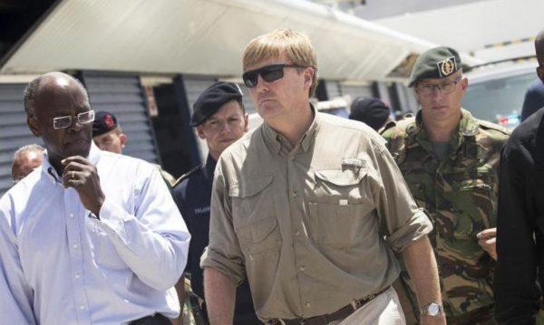 """Rey Guillermo Alejandro: Destrucción En San Martín Es """"Peor Que Una Zona De Guerra"""""""