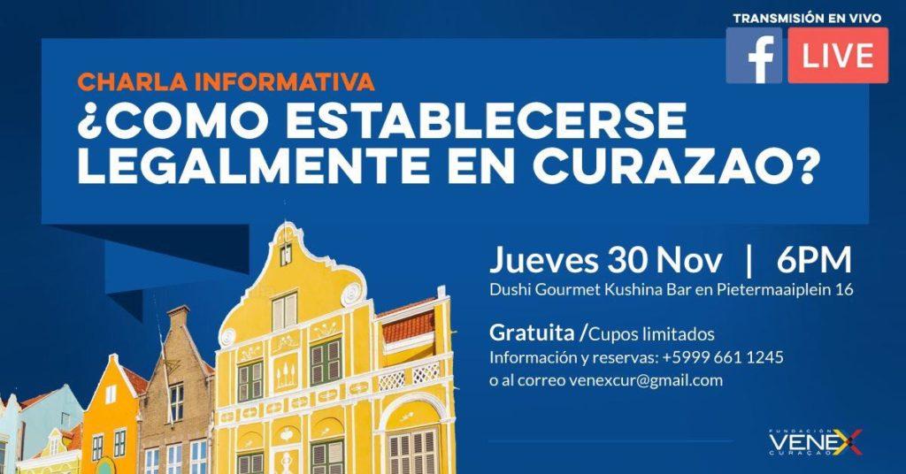 """Charla informativa """"Cómo Establecerse Legalmente en Curazao"""""""