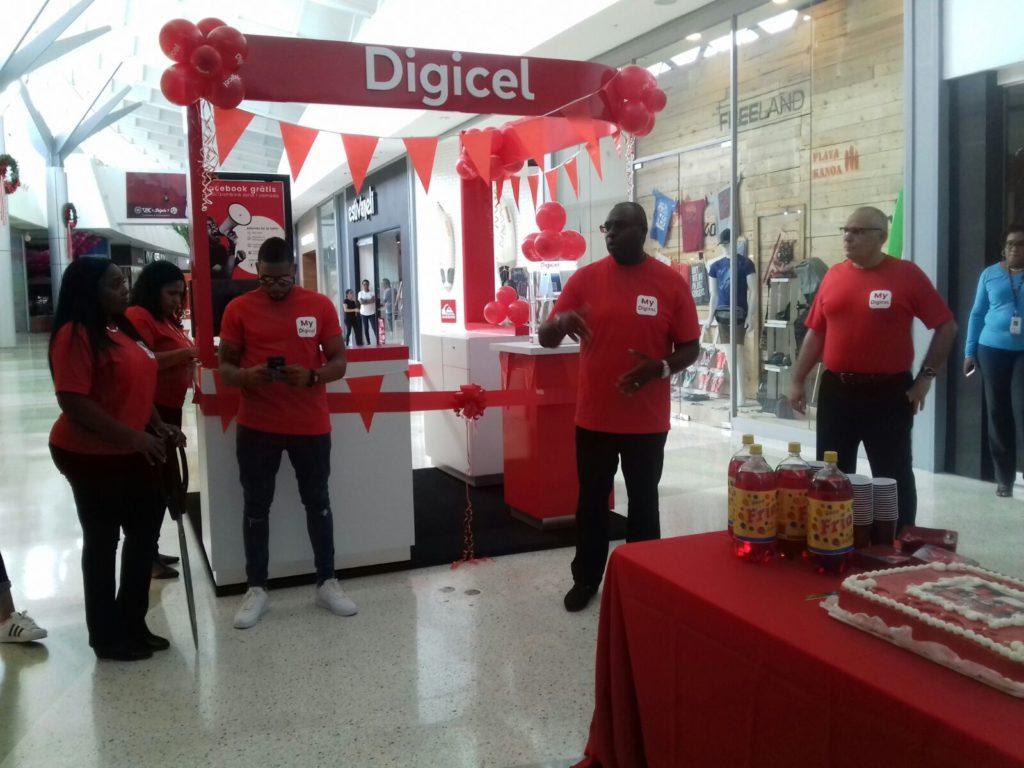 Digicel abrió sus puertas oficialmente en el Sambil