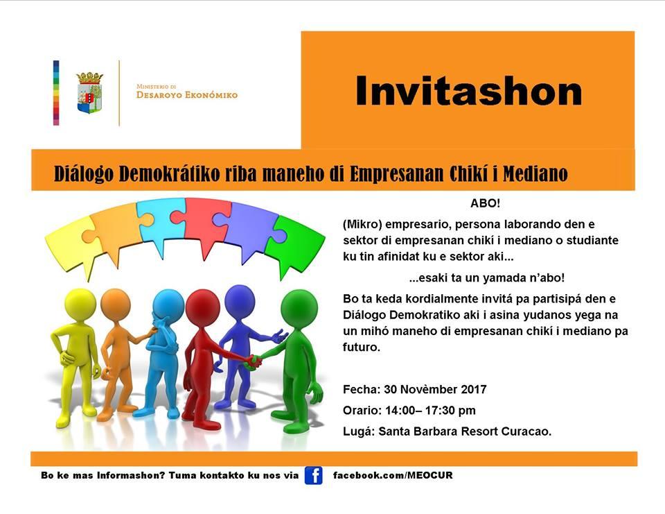 Ministerio de Desarrollo Económico invita a micro-empresarios a un diálogo democrático