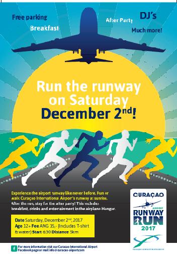 CAP: No te pierdas el evento deportivo más único del Caribe: ¡Run the Runway!
