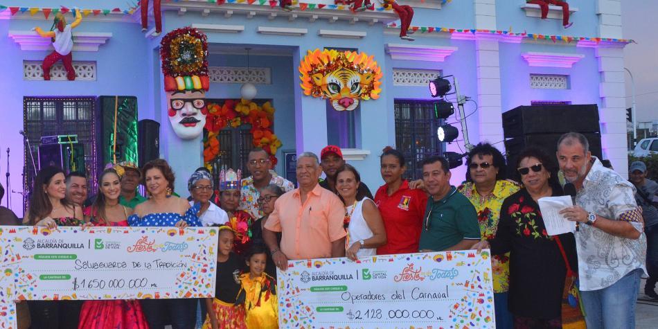 Barranquilla está lista para celebrar las fiestas del Carnaval 2018