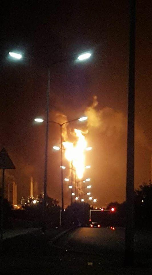Explosión en Refinería Isla causó pánico en la comunidad