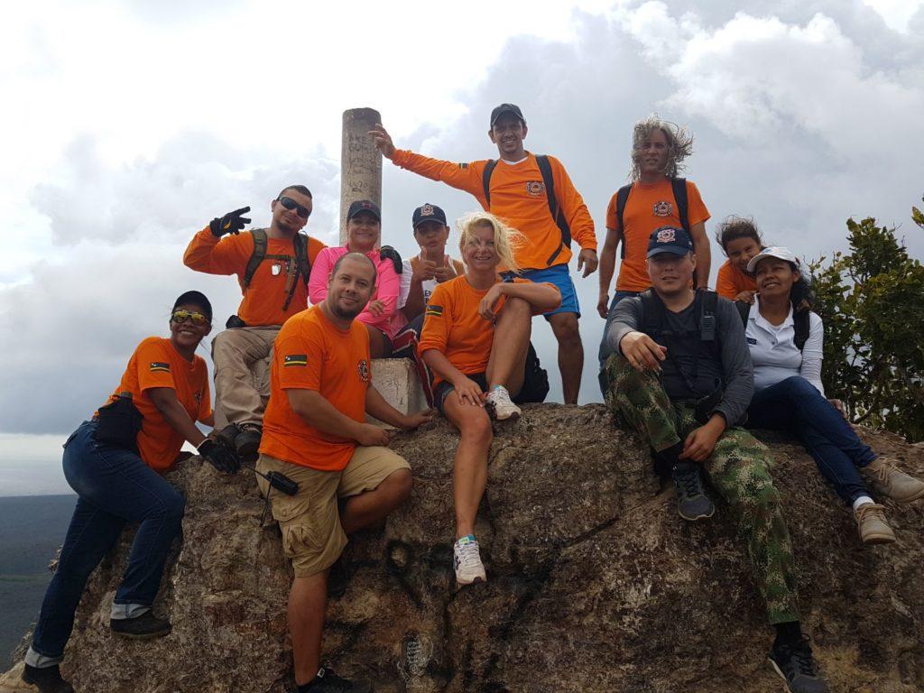 CUSAR realiza exitoso simulacro de rescate en Parque Nacional Christoffel