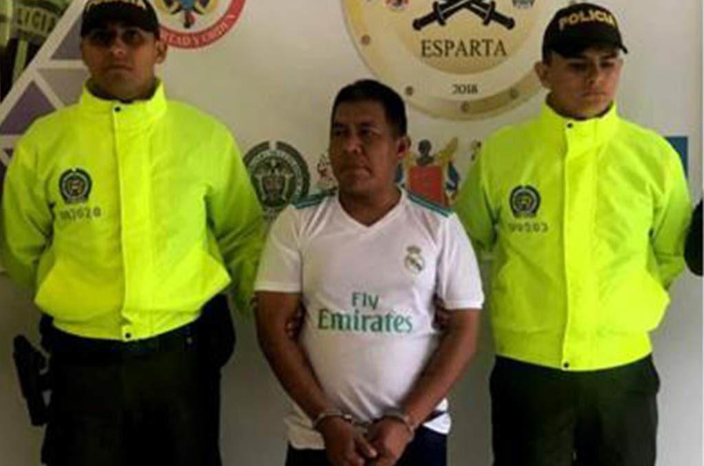 """Capturan en Colombia al mayor proveedor de armas de la banda el """"Clan del Golfo"""""""