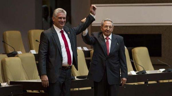 Miguel Díaz Canel fue electo como el nuevo presidente de Cuba