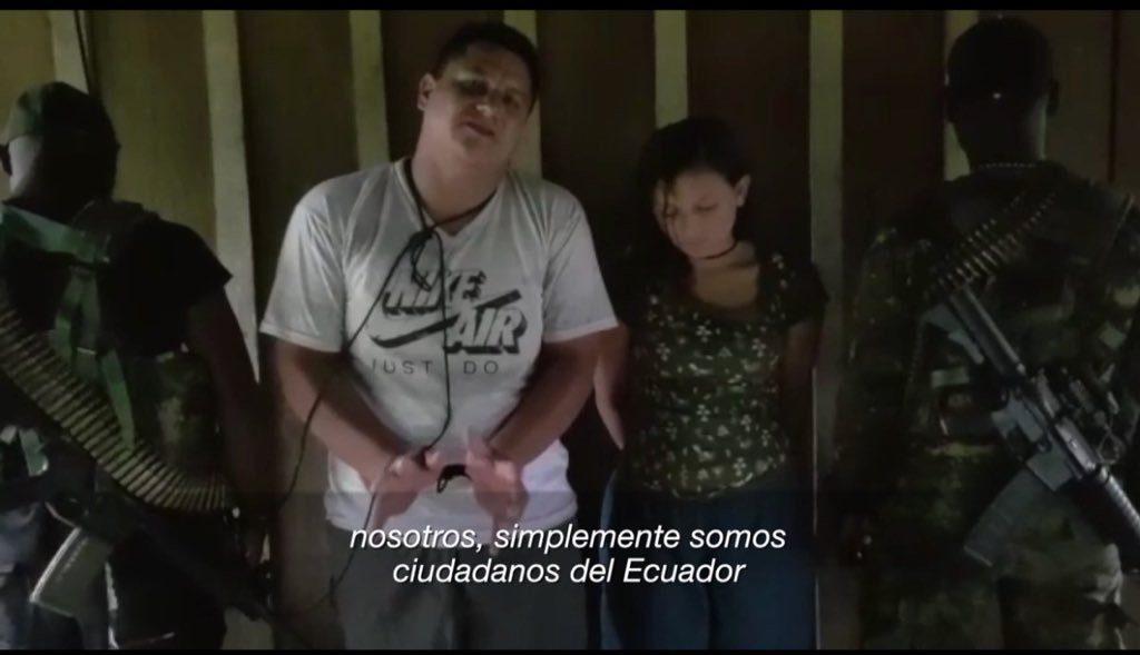 Ecuador confirma nuevo caso de secuestro en la frontera con Colombia