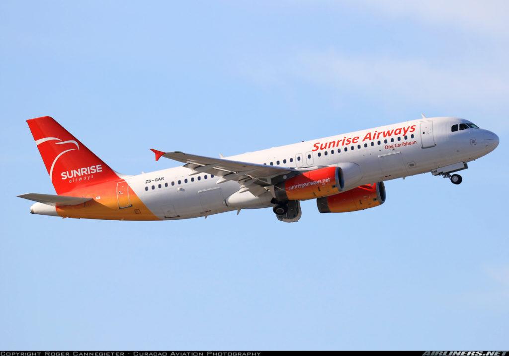 Aerolínea Sunrise Airways conecta nuevamente a Curazao con Cuba