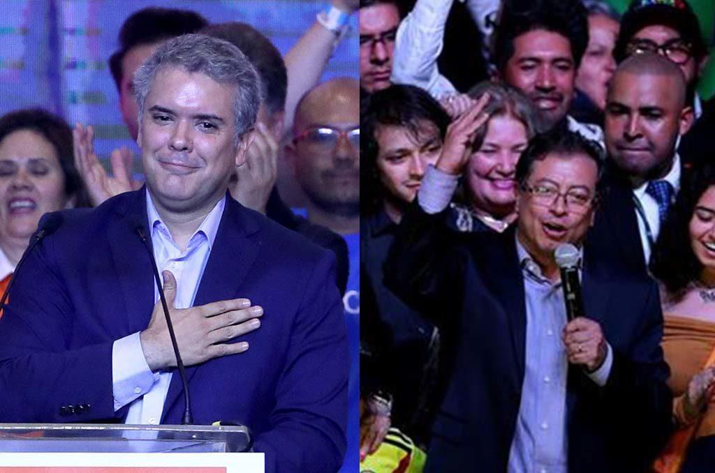 Duque y Petro a segunda vuelta el 17 de junio rumbo a las presidenciales