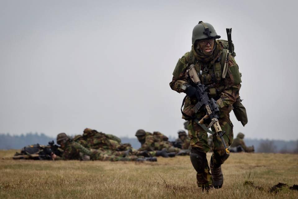 Tropas holandesas llegan a Curazao para ejercicios militares
