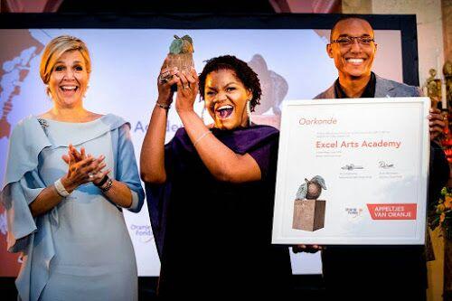 Academia local de artes recibe importante premio en Holanda