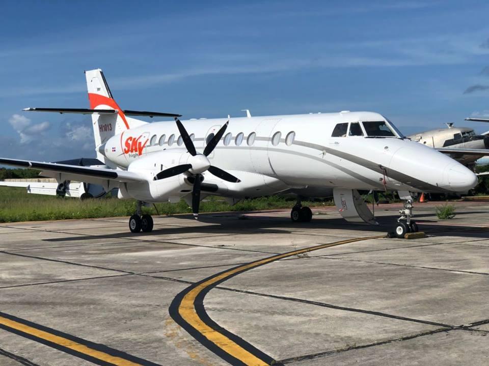 Nuevo avión de SkyHigh llega a Curazao