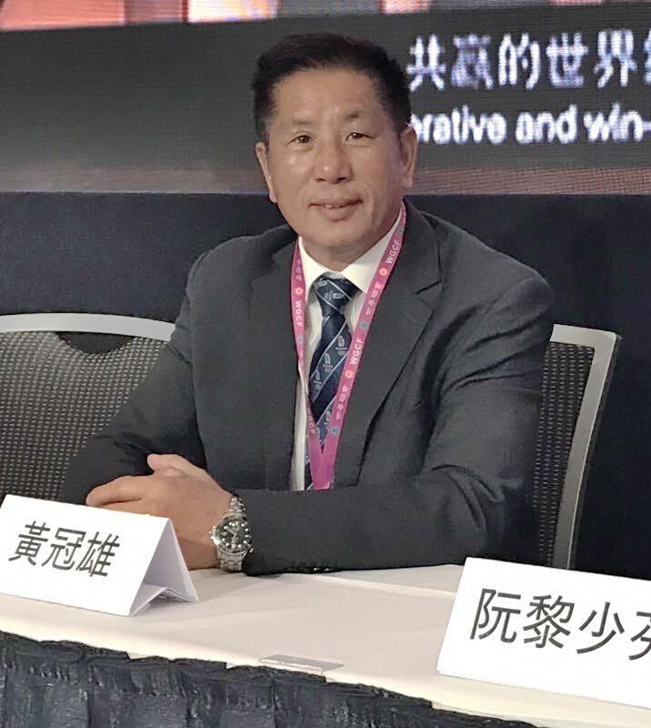 La comunidad china local lucha por la reunificación pacífica de China y Taiwán