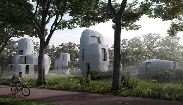 Holanda construirá las primeras casas impresas en 3D