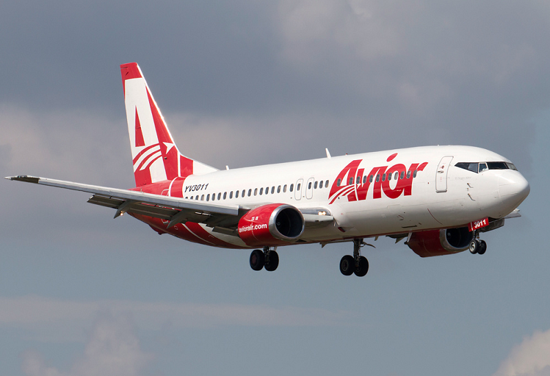 Avior Airlines ofrece nueva conexión entre Curazao y Cali
