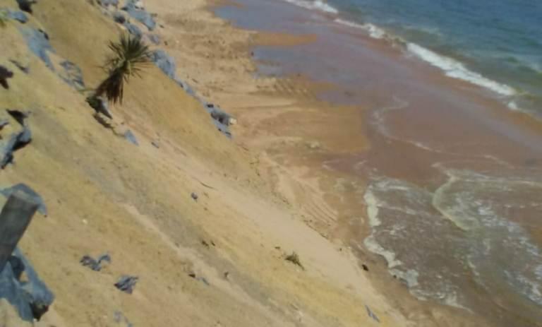 Contrataron draga para regenerar playa en Holanda