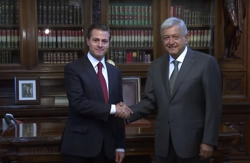 AMLO se reúne con Enrique Peña Nieto