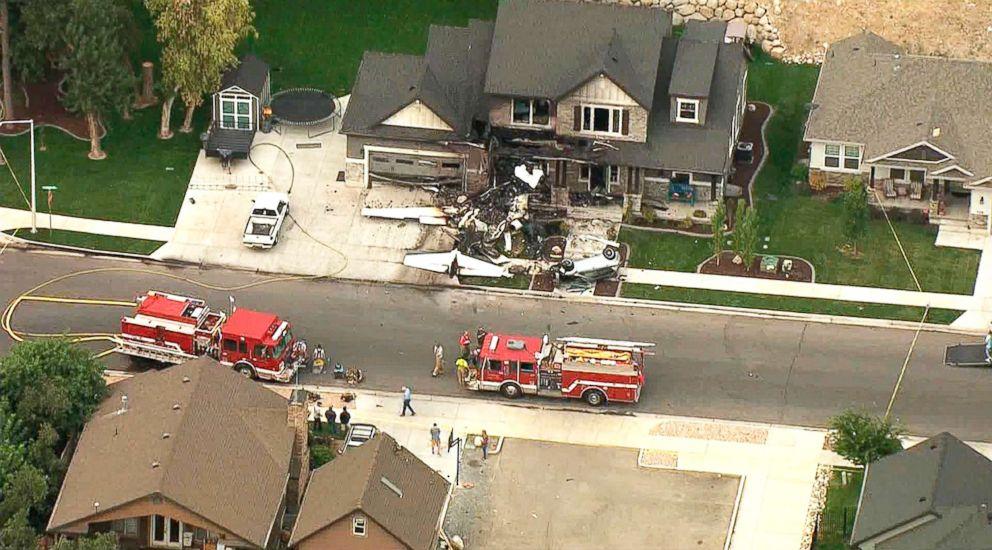 Piloto estrella avión contra su propia casa luego de ser arrestado