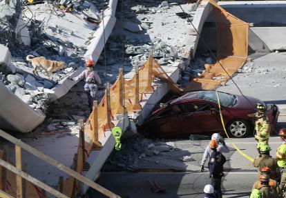 Al menos 26 muertos tras derrumbe de puente en Italia
