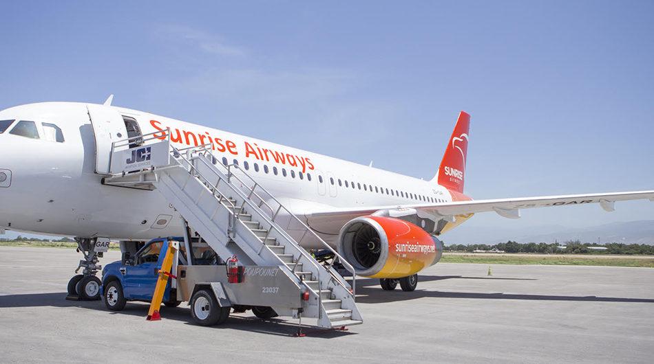 Sunrise Airways se convierte en la mejor opción para volar a Santo Domingo y Haití