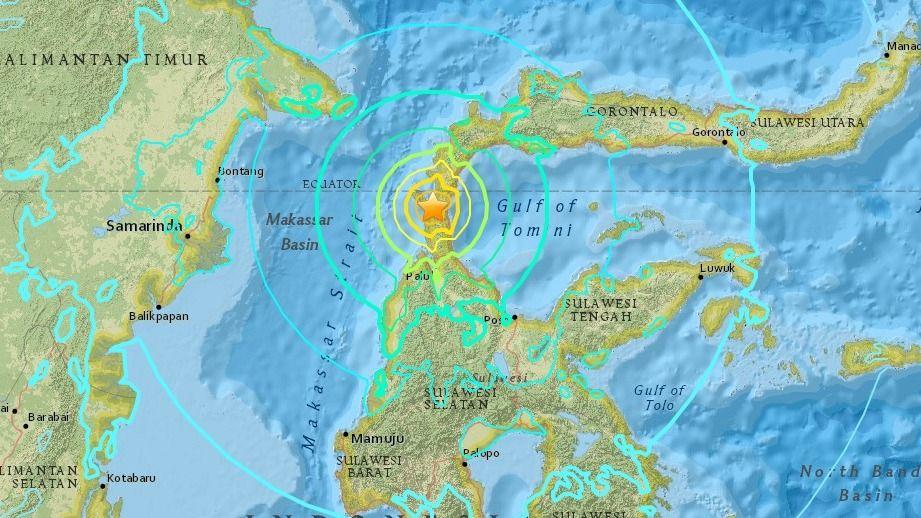 Terremoto de 7.5 sacude a Indonesia