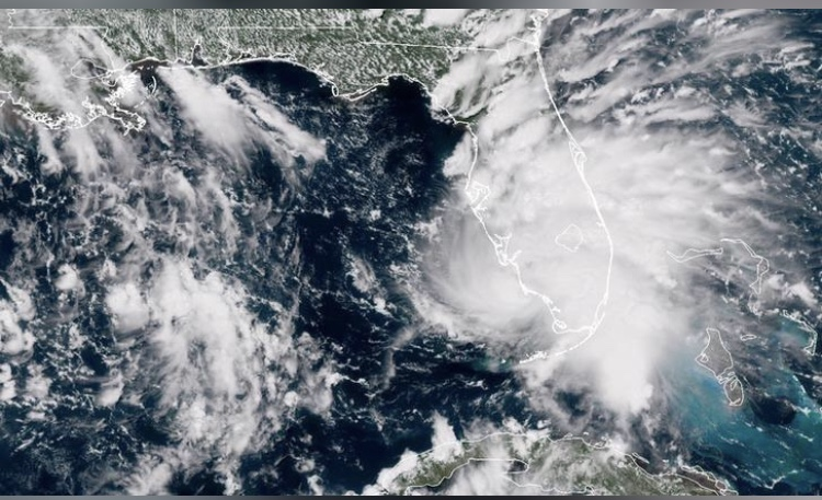 Tormenta Gordon toca tierra al oeste de límite entre Alabama y Misisipi