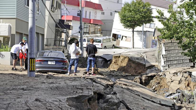 Terremoto deja un muerto y 32 desaparecidos en Japón