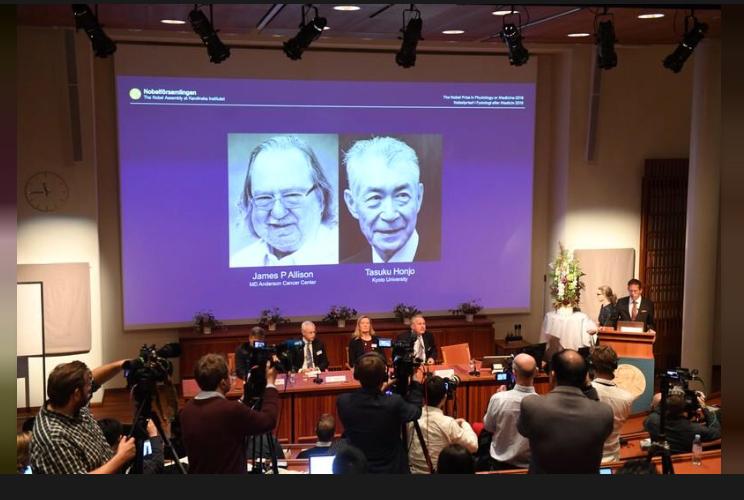 Premio Nobel de Medicina para investigadores de terapias contra el cáncer