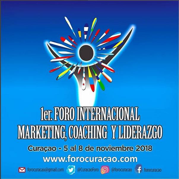 Curazao será sede del más importante foro de marketing, coaching y liderazgo