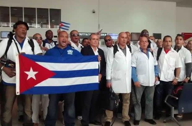 Conflicto entre Bolsonaro y médicos cubanos