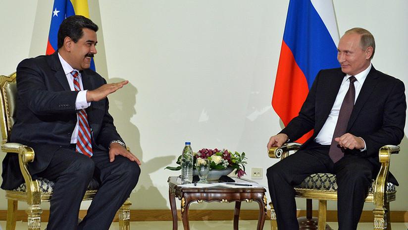 El presidente venezolano llega a Rusia; se reunirá con Putin