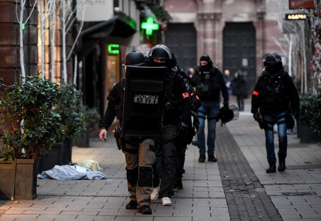Policía francesa abatió a presunto atacante de Estrasburgo