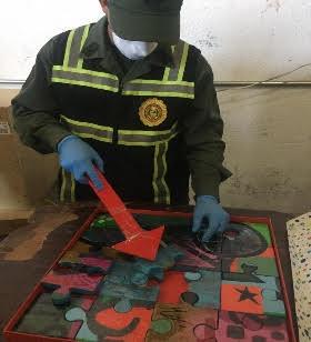 Incautaron en Caracas 11 kilos de cocaína  que pretendían enviar a Curazao