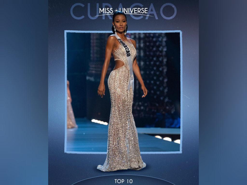 Miss Curaçao regresa a casa después de haber destacado en el Miss Universo