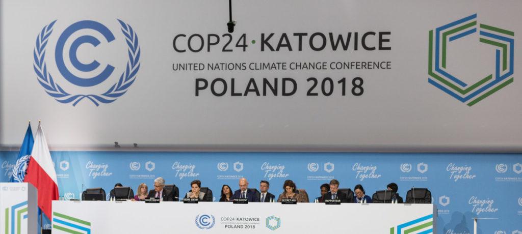 Comenzó la cumbre climática anual COP24