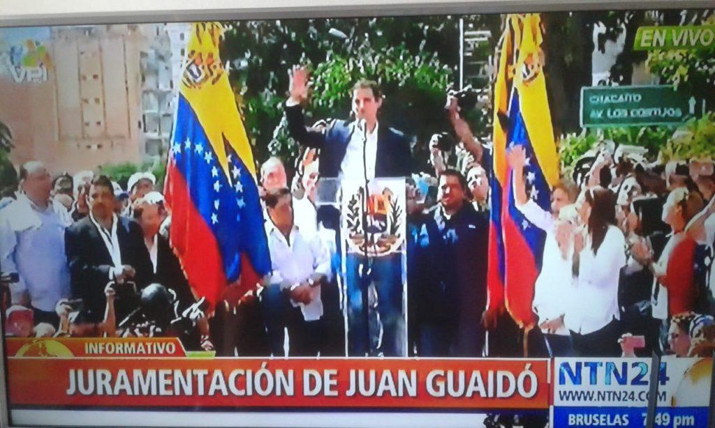 Comunidad internacional reconoce a Juan Guaidó como Presidente Interino de Venezuela