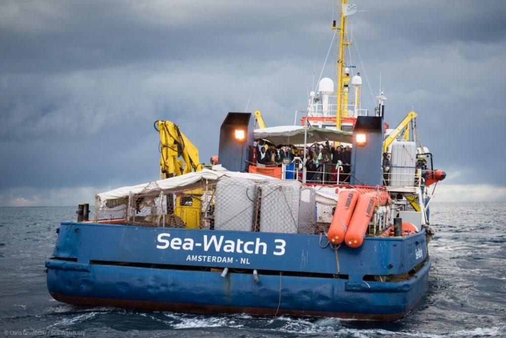 Llegan a Sicilia 47 migrantes en el Sea-Watch