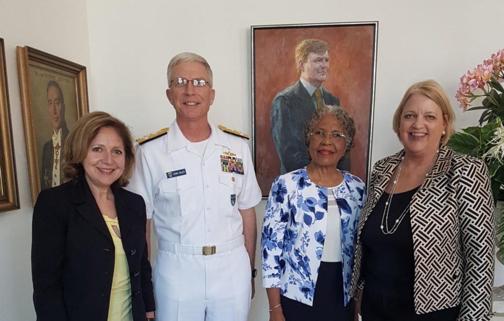 Jefe del Comando Sur de EEUU de visita en Curazao
