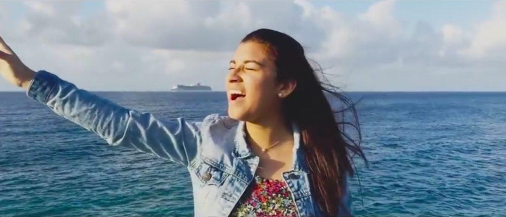 Darling Nava, una promesa musical que está floreciendo en Curazao