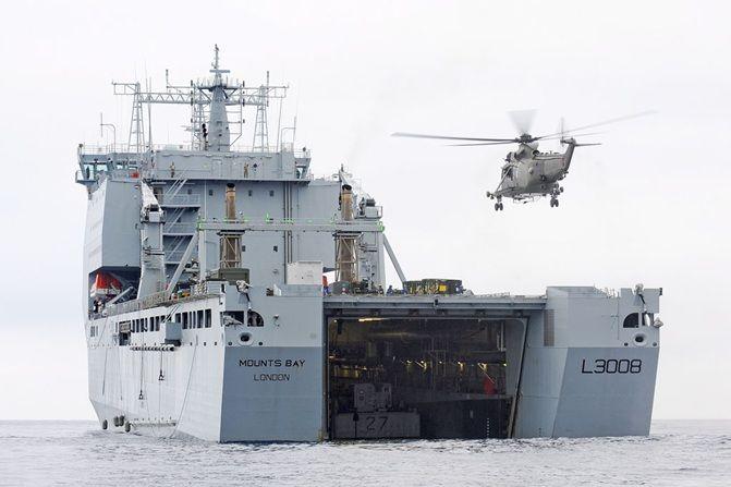 Inquietud por presencia militar británica en Curazao