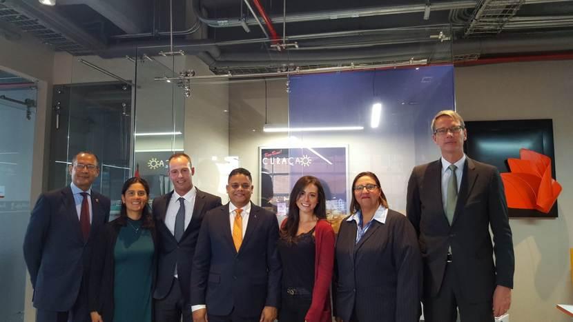 Cámaras de comercio de Curazao y Bogotá firmaron acuerdo