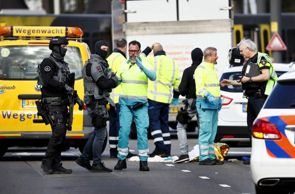 Tres muertos y nueve heridos dejó tiroteo en Holanda