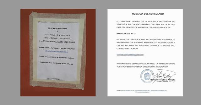 Más sobre el caso del Consulado de Venezuela en Curaçao