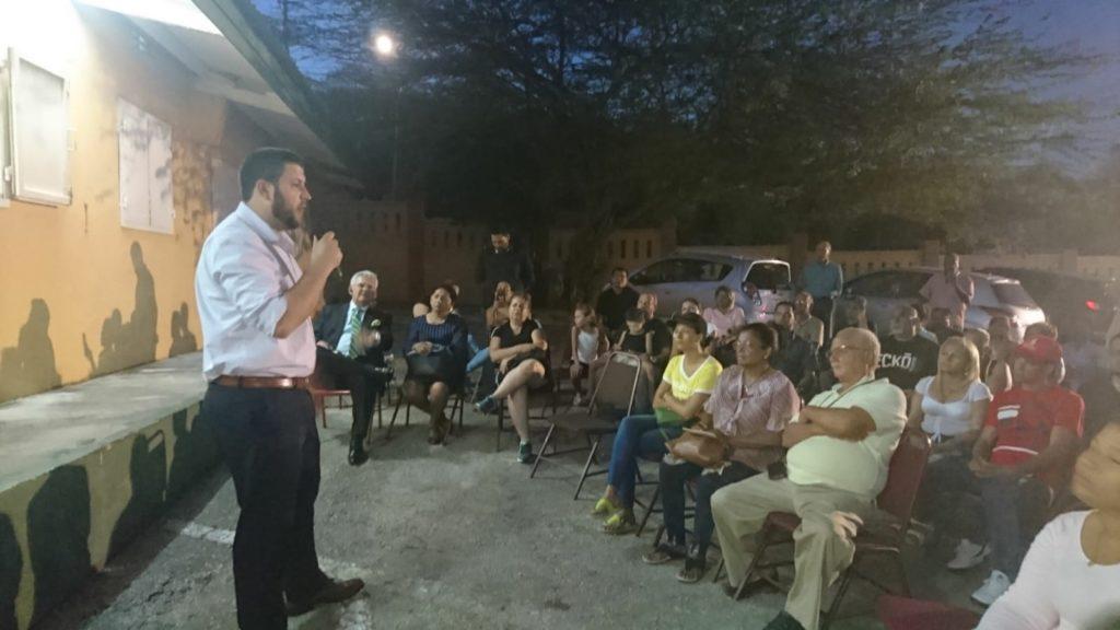 David Smolansky se encontró con la diáspora venezolana en Curazao