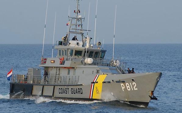 Guardia Costera reafirma su compromiso de vigilar aguas de Curazao