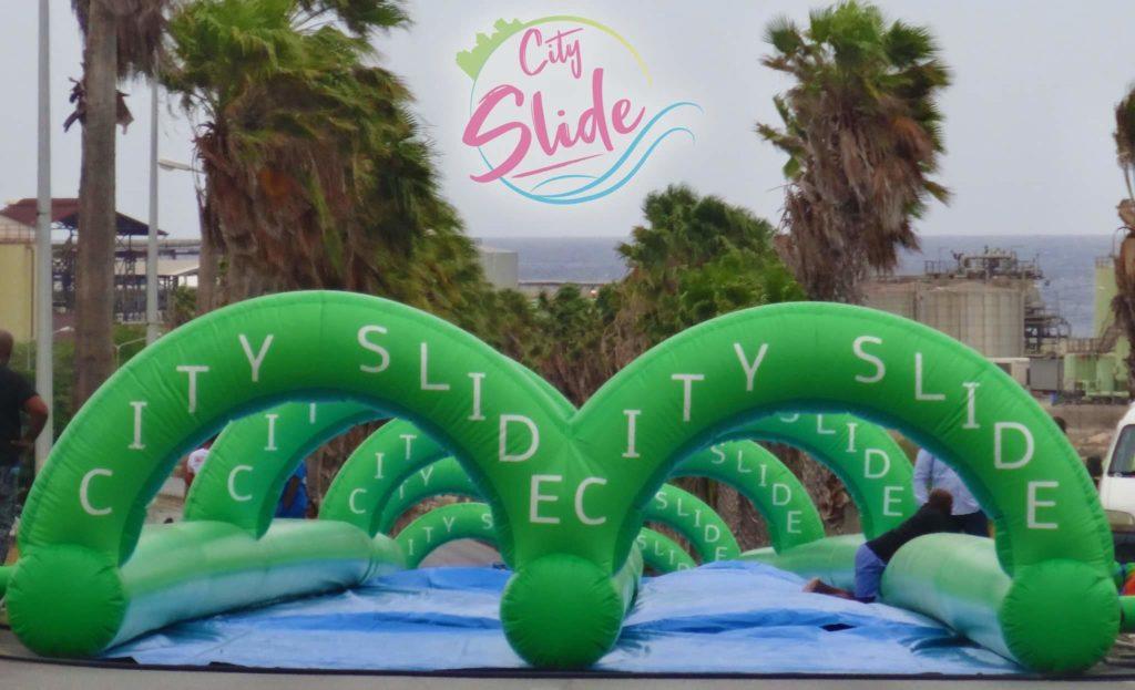 City Slide Caribbean Festival fue suspendido por fuertes vientos