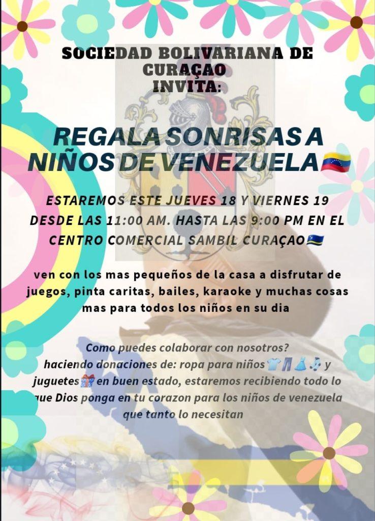 Buscan regalar sonrisas a niños venezolanos