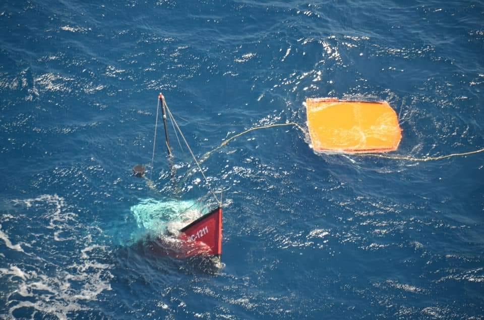 Guardia Costera rescató a cuatro personas