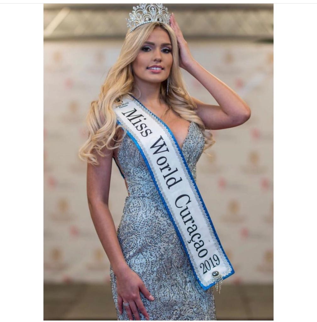 Sharon Meyer representará a Curazao en Miss World 2019