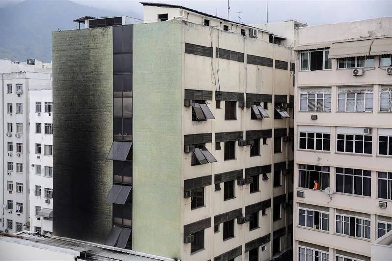 Tragedia en un hospital en Rio de Janeiro